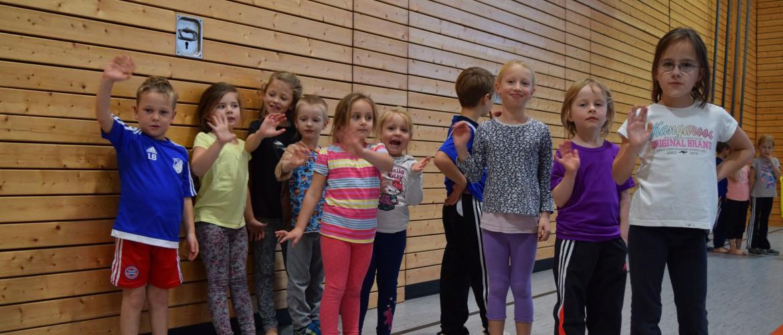 Kinderturnen am Montag, SV Nußdorf/Inn
