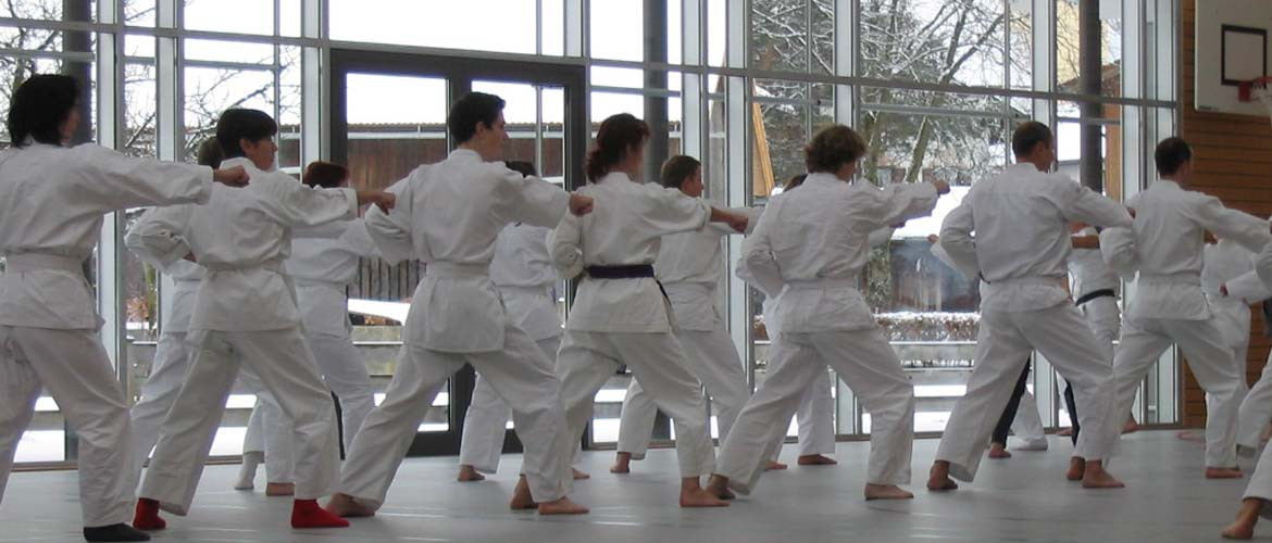Karate Training, SV Nußdorf/Inn