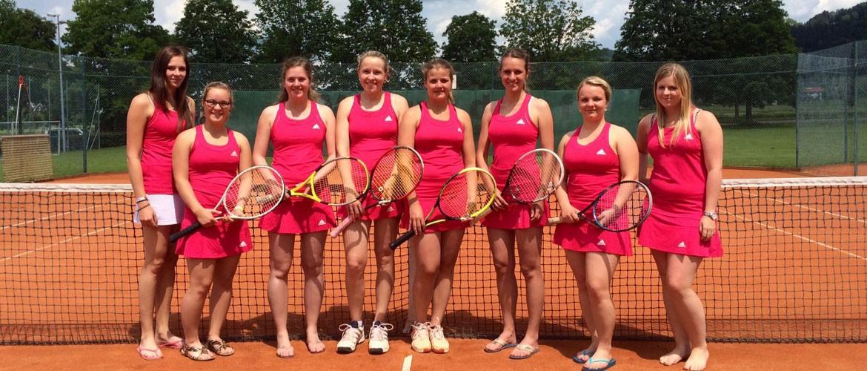 Damenmannschaft Tennis 2015, SV Nußdorf/Inn