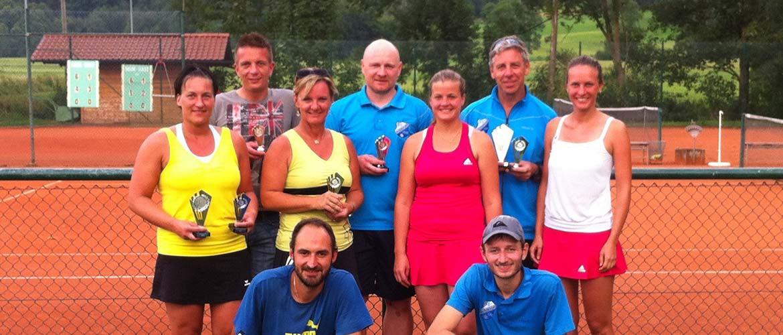Finalisten 2015 Abteilung Tennis, SV Nußdorf/Inn