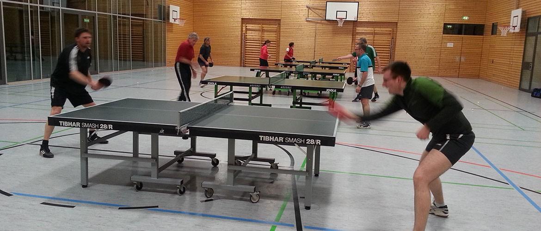 Tischtennis Mannschaft, SV Nußdorf/Inn