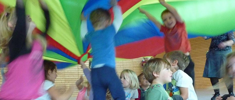 Eltern-Kind-Turnen am Mittwoch, SV Nußdorf/Inn